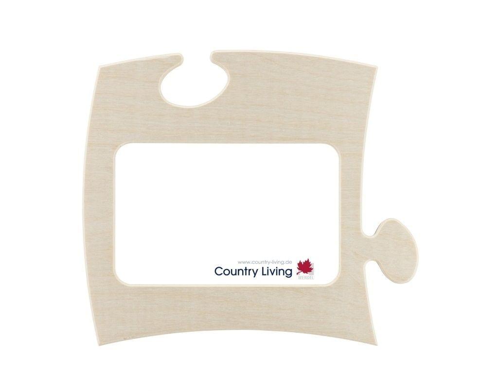 country living puzzle bilderrahmen 10x15 natur 7011 m bel. Black Bedroom Furniture Sets. Home Design Ideas